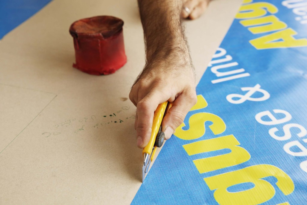 When vinyl banners become fashion statements | The Switchers