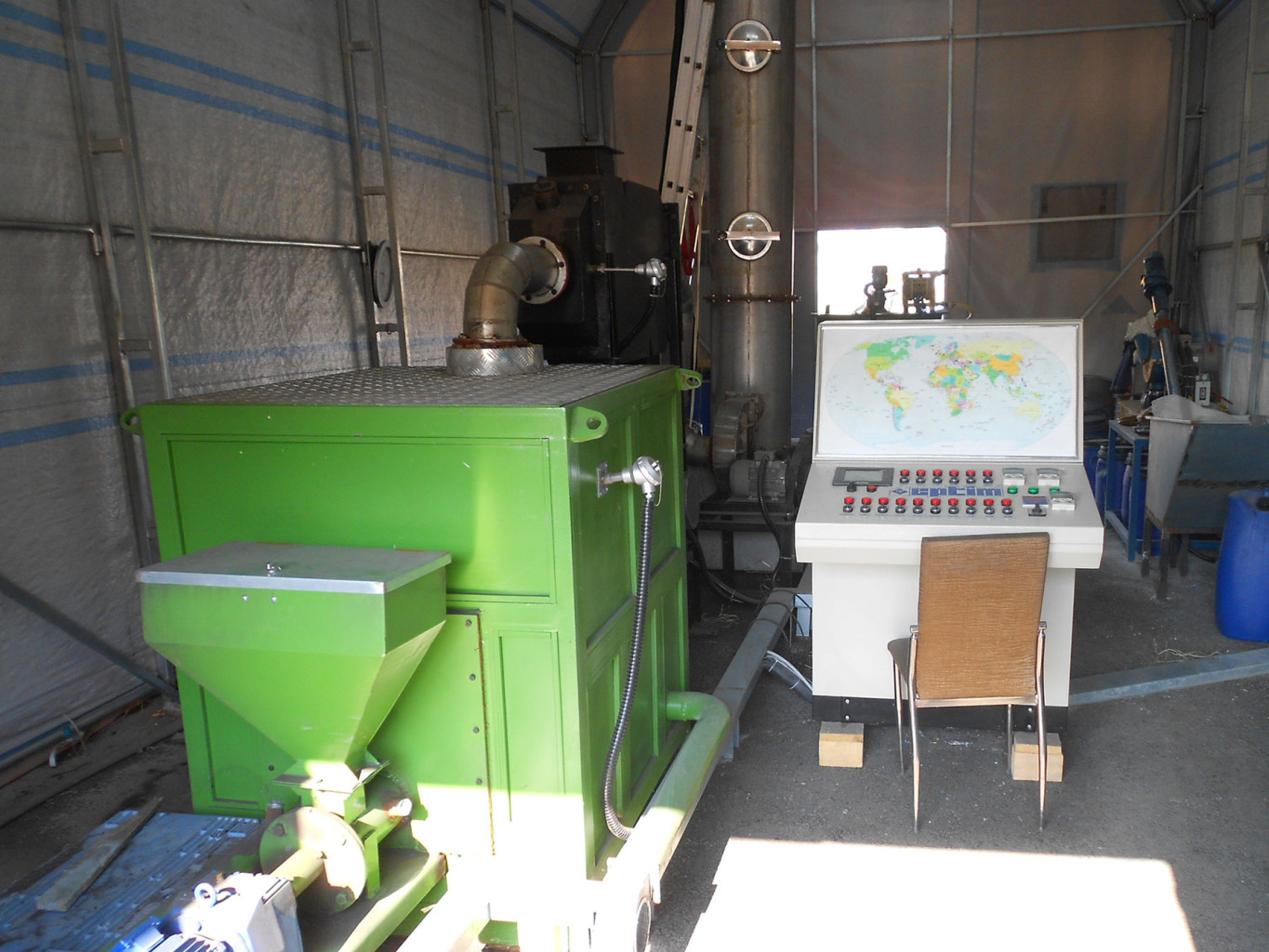 A green technology that transforms gaseous pollutants into fertilizer |The Switchers