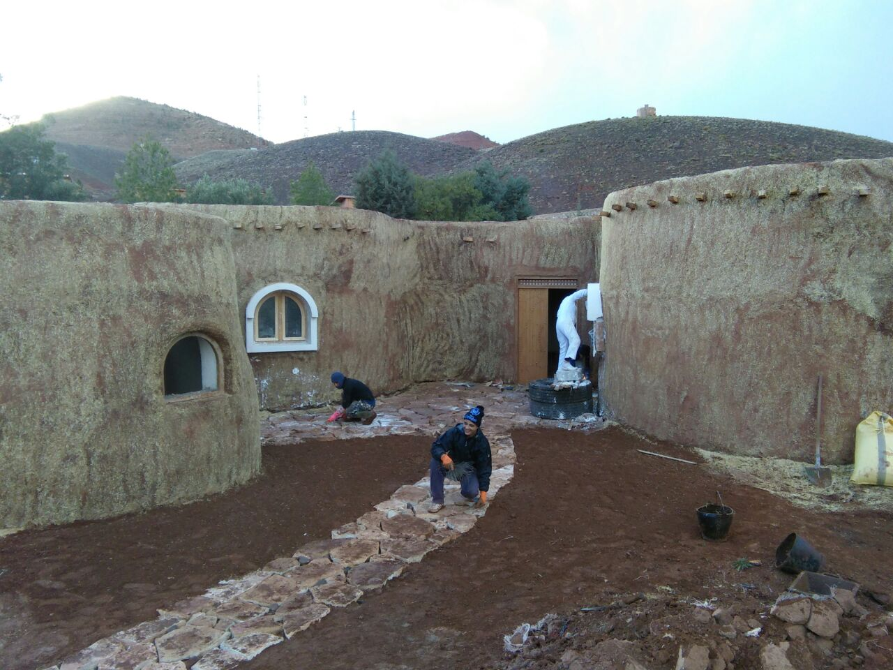 Aesthetic Domes Go Green And Inhabitable In Morocco  The Switchers