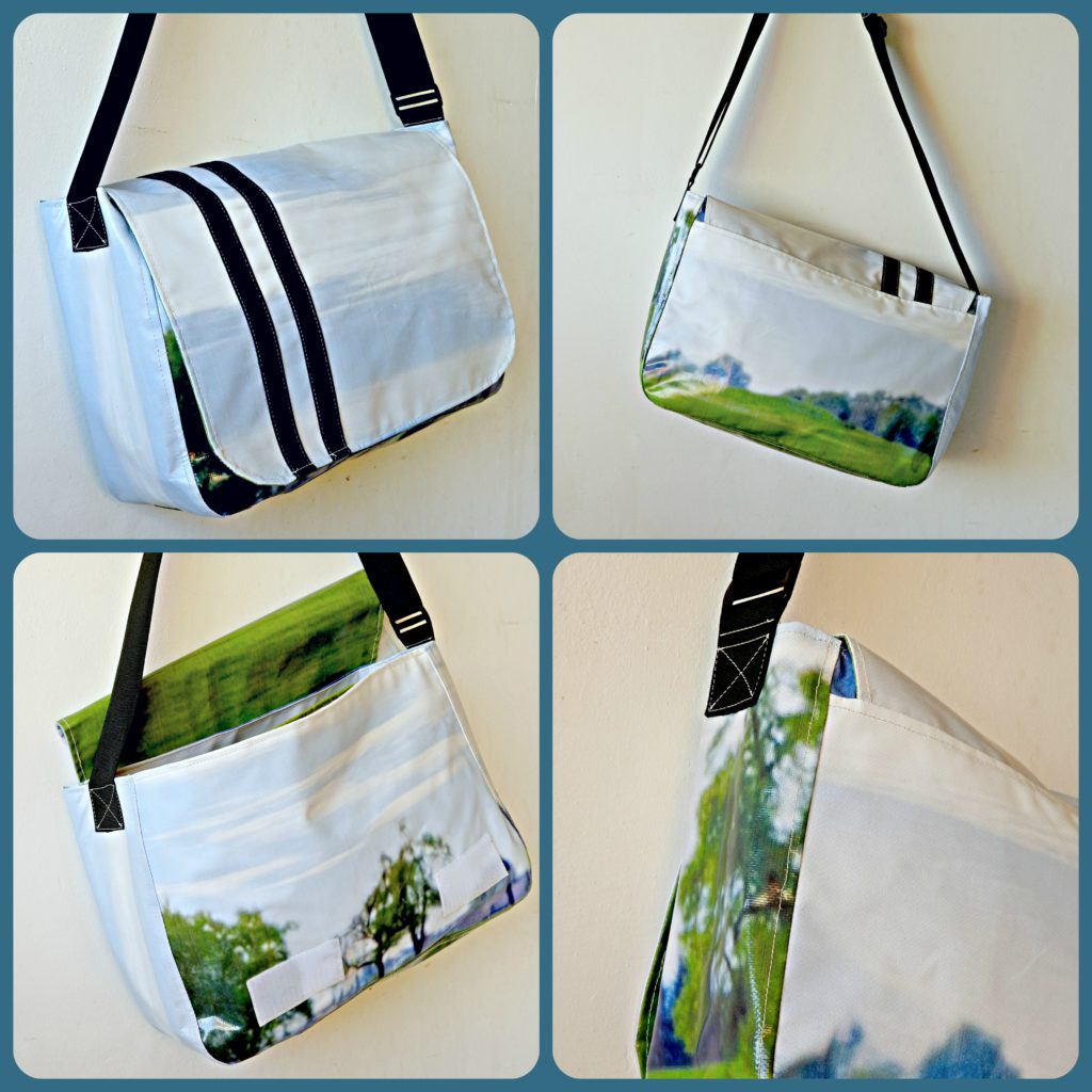 Upcycling design turns old billboards into fashionable bags | The Switchers