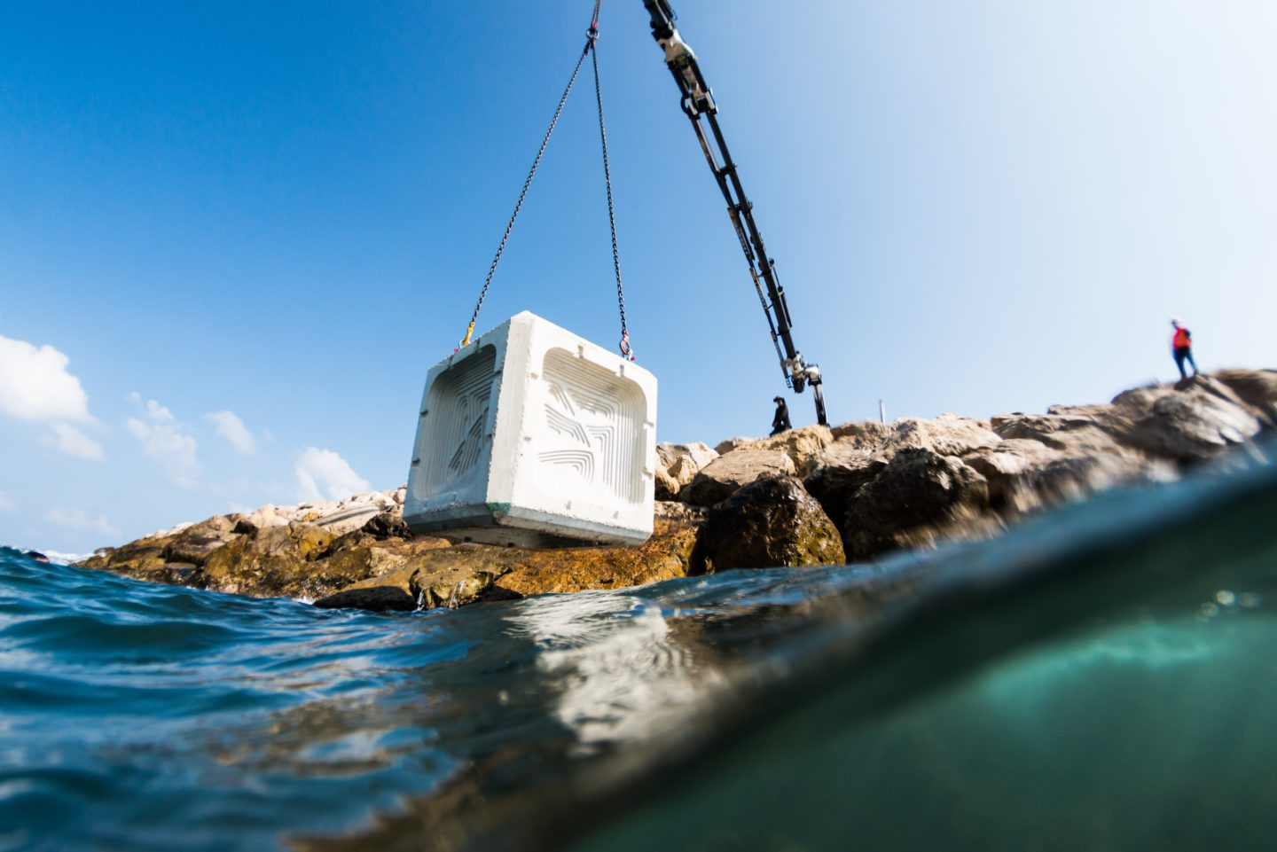 An Israeli initiative is offering concrete solutions to battered coastlines |The Switchers