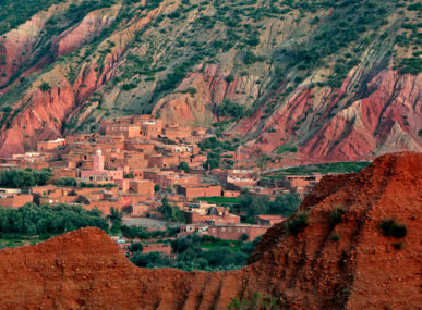 Terres d'Amanar, nestled in Morocco's Atlas Mountains