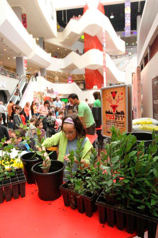 Israel's first eco-friendly shopping center | The Switchers