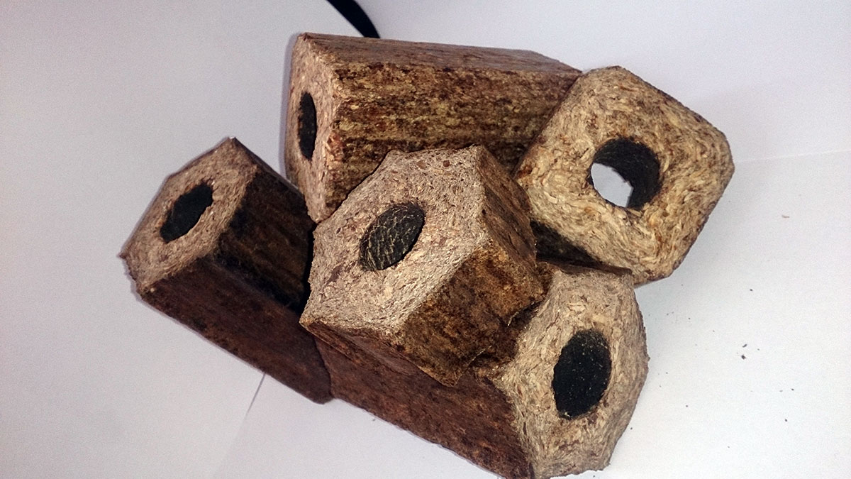 An agricultural company that produces biomass briquettes |The Switchers