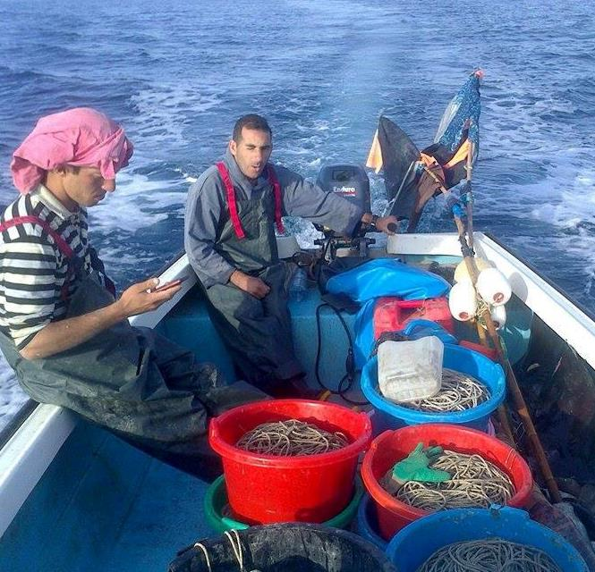 Responsible fishing and creation of a Marine Protected Area at Azeffoun | The Switchers