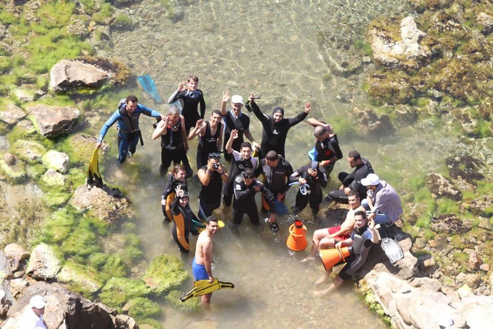 "Underwater trail of Ras El Afia ""Grand Phare"". |The Switchers"