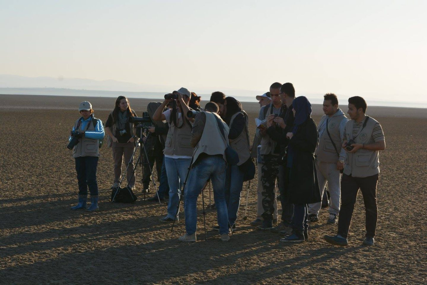 The training of tomorrow's tourist guides for a more sustainable Algeria. |The Switchers