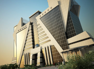 Design for a municipal building in Saudi Arabia