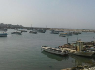 A fishing port in Northern Lebanon