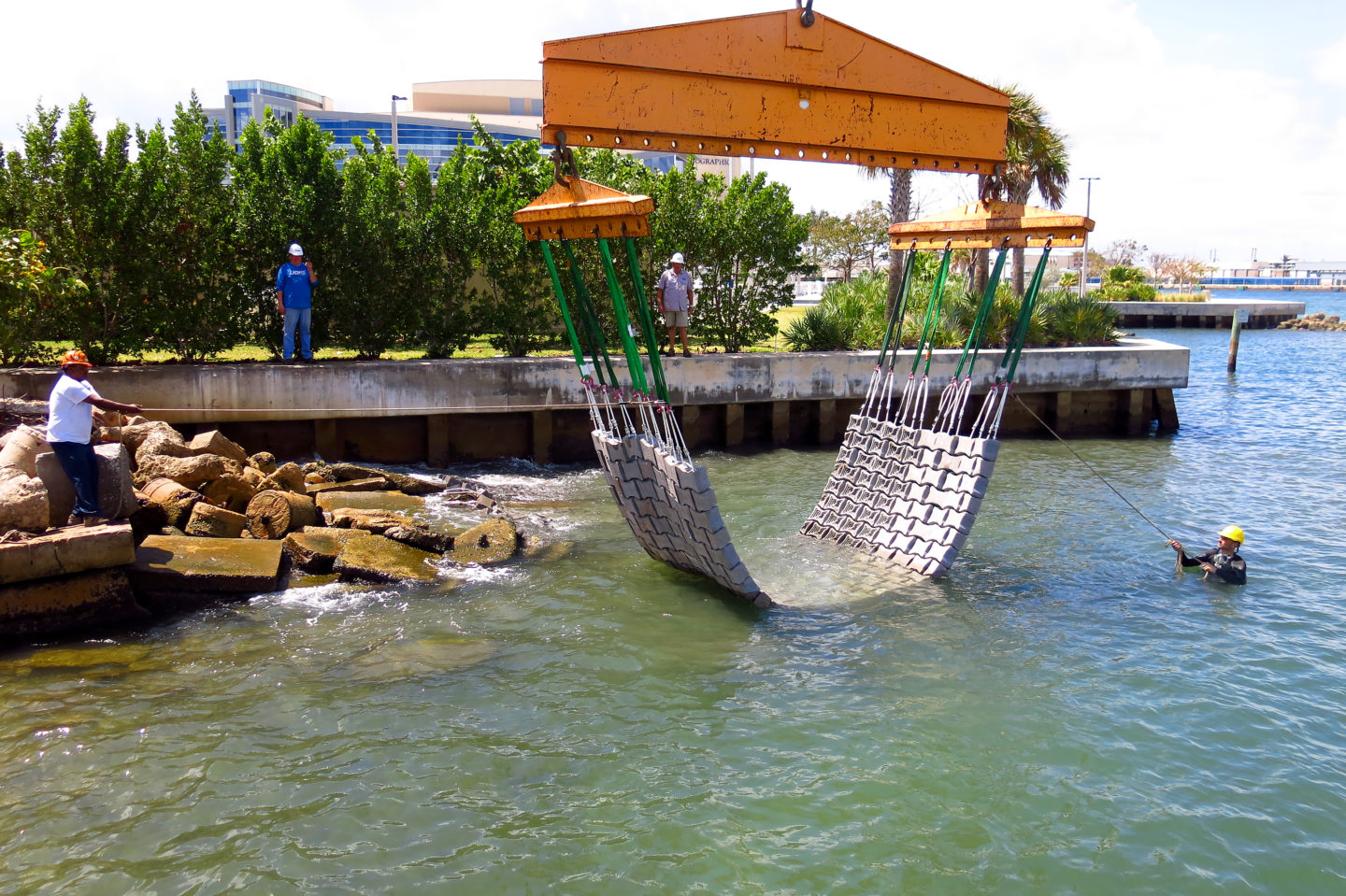 An Israeli initiative is offering concrete solutions to battered coastlines | The Switchers