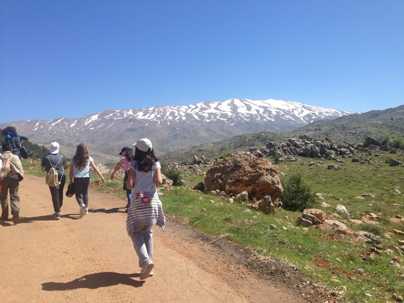 Hike the length of Lebanon with the country's longest mountain trail | The Switchers