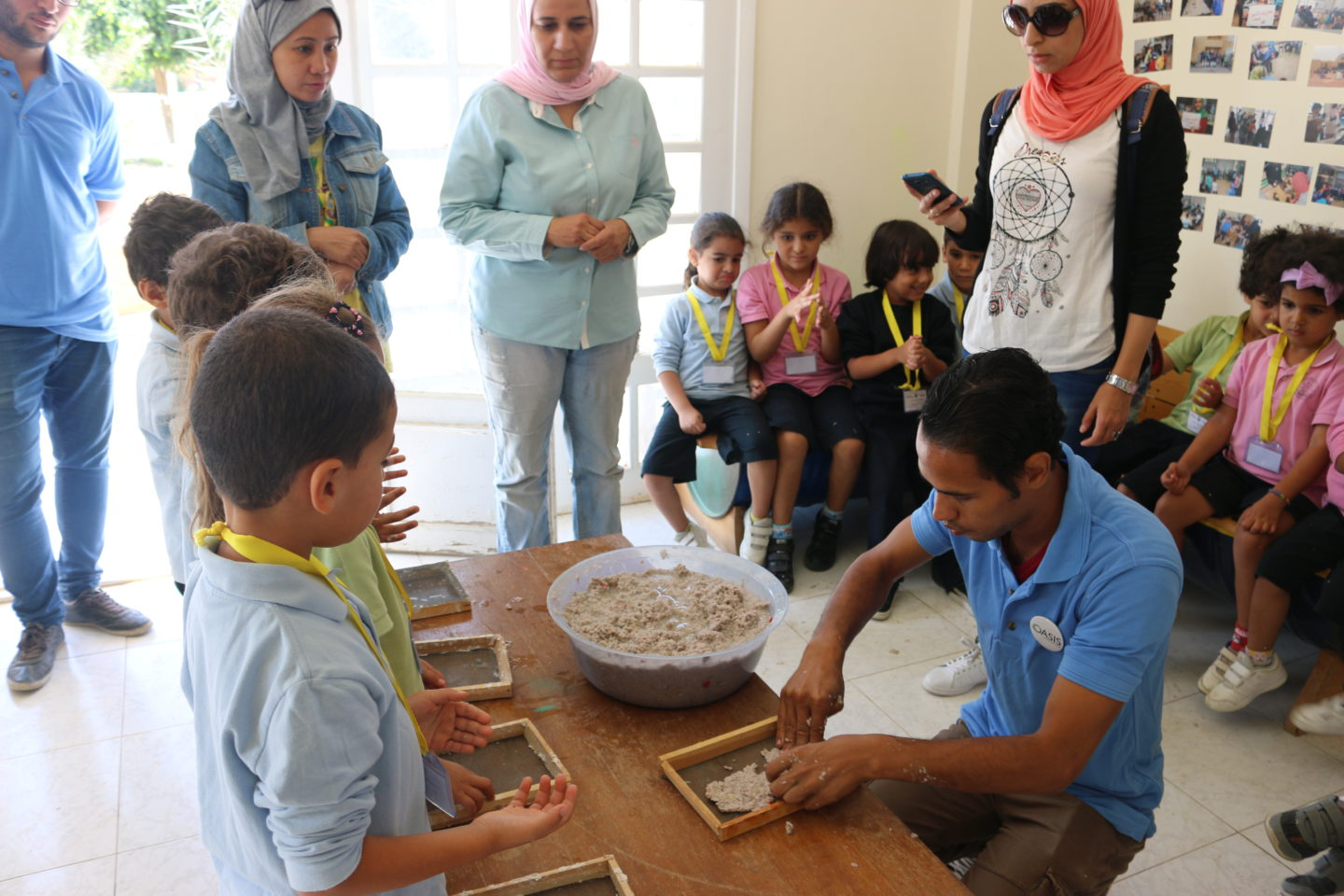 An oasis of sustainable learning in the Egyptian desert | The Switchers