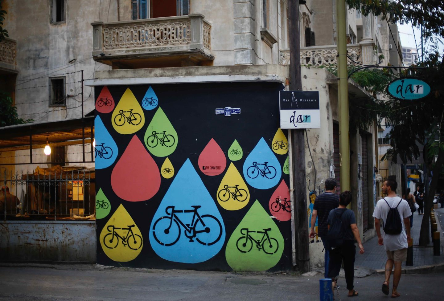 Allier mobilisation et street art pour inciter les habitants de Beyrouth à adopter le vélo | The Switchers