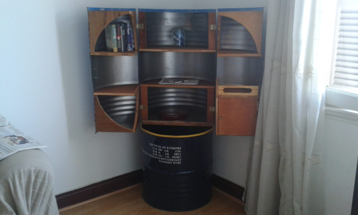New beat for an old drum: converting oil containers into contemporary furniture | The Switchers