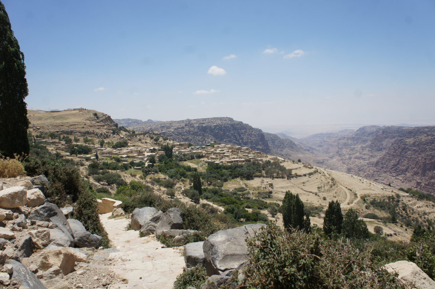 Mountain views and sustainable farming draw tourists to southern Jordan | The Switchers
