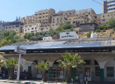 Be Solar installs solar panels on buildings across Jordan to help locals tap into the country's most reliable energy source