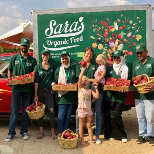 Sara's Organic Food employs a team of farming and logistics experts to help Egyptians eat more healthy produce
