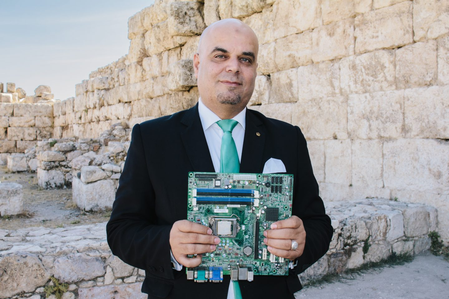 This Jordanian entrepreneur wants to recycle the most hazardous materials in a mostly digital age | The Switchers