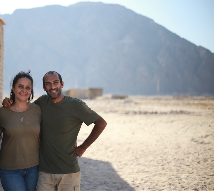 Egyptians build organic farm and art space amidst harsh desert and hungry camels |The Switchers