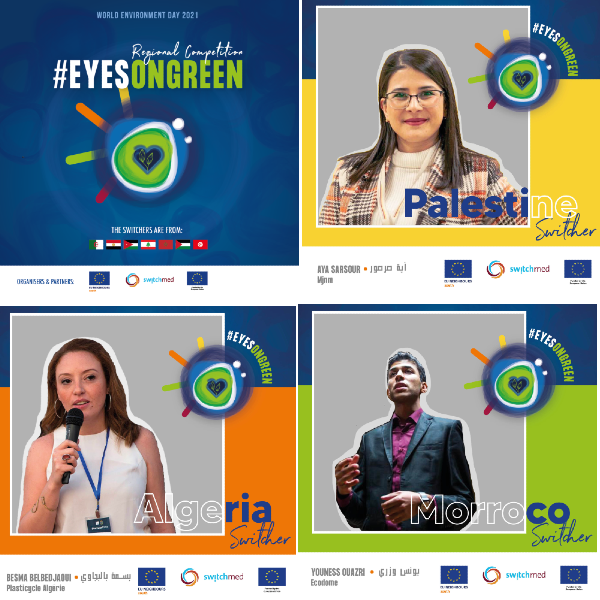 The EyesOnGreen competition awards three Switchers for their eco-innovations |The Switchers