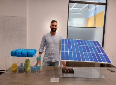 YY ReGen is a Lebanese startup business that provides renewable energy to Lebanese farmers as and when they need it.